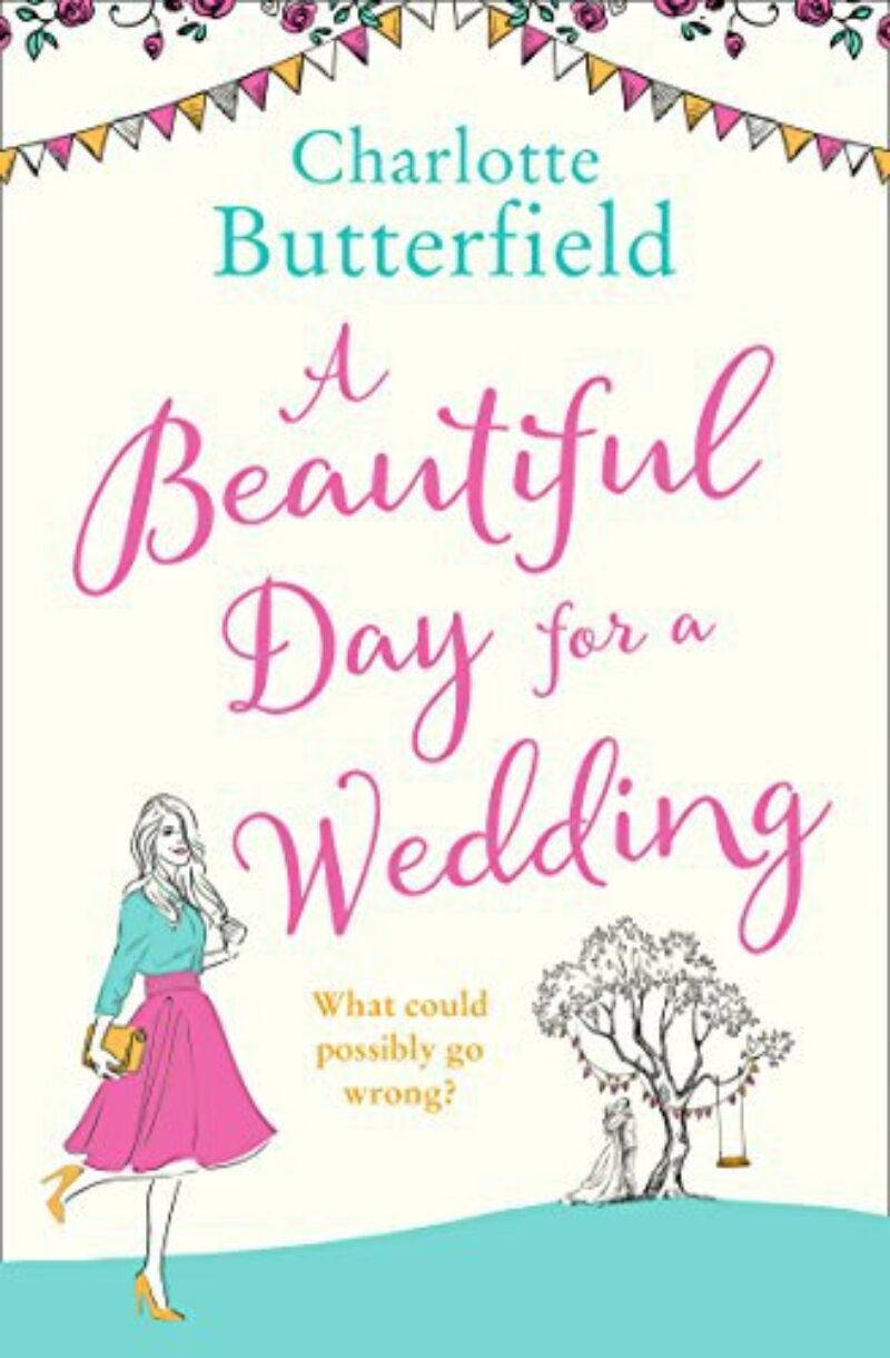 Book cover for 'A Beautiful Day for A Wedding'