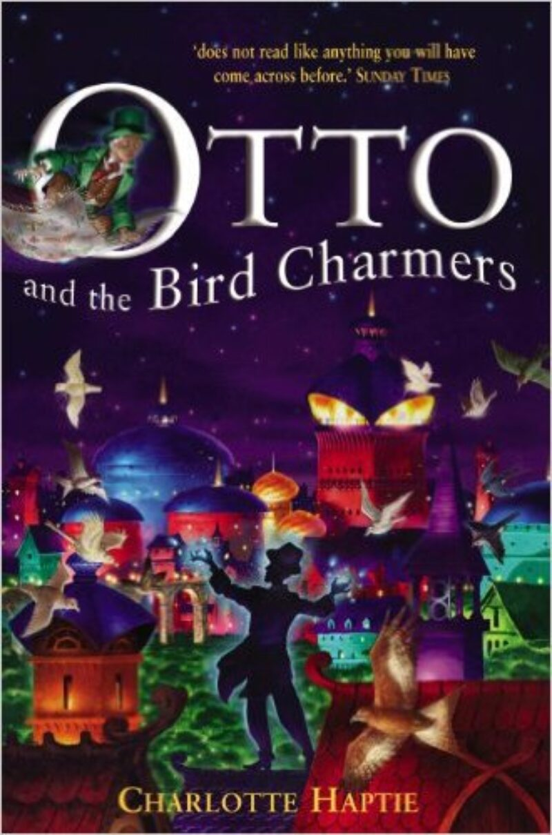 Book cover for 'Otto and the Bird Charmers'