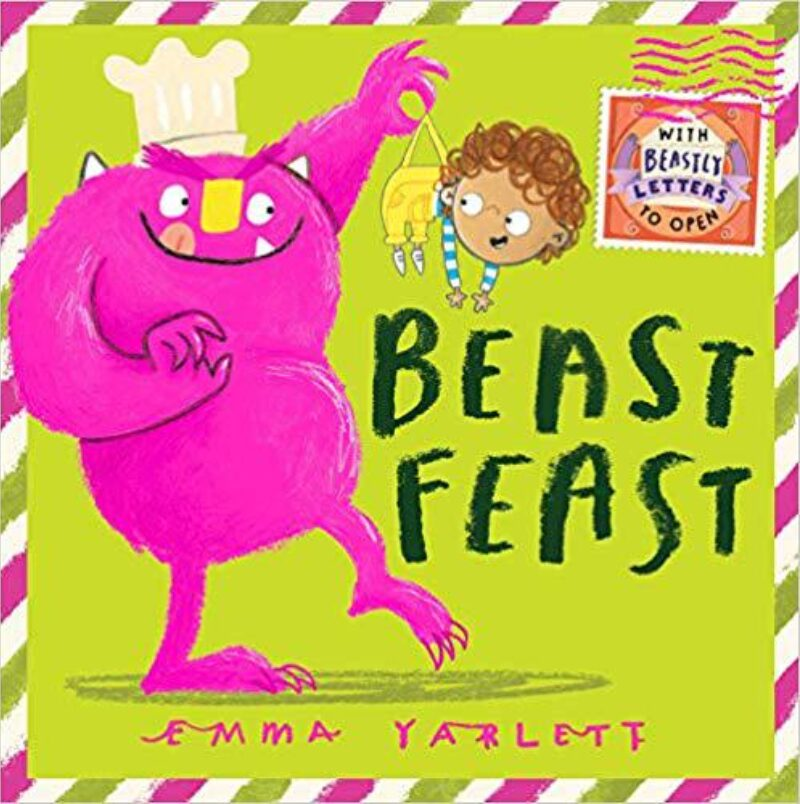 Book cover for 'Beast Feast'