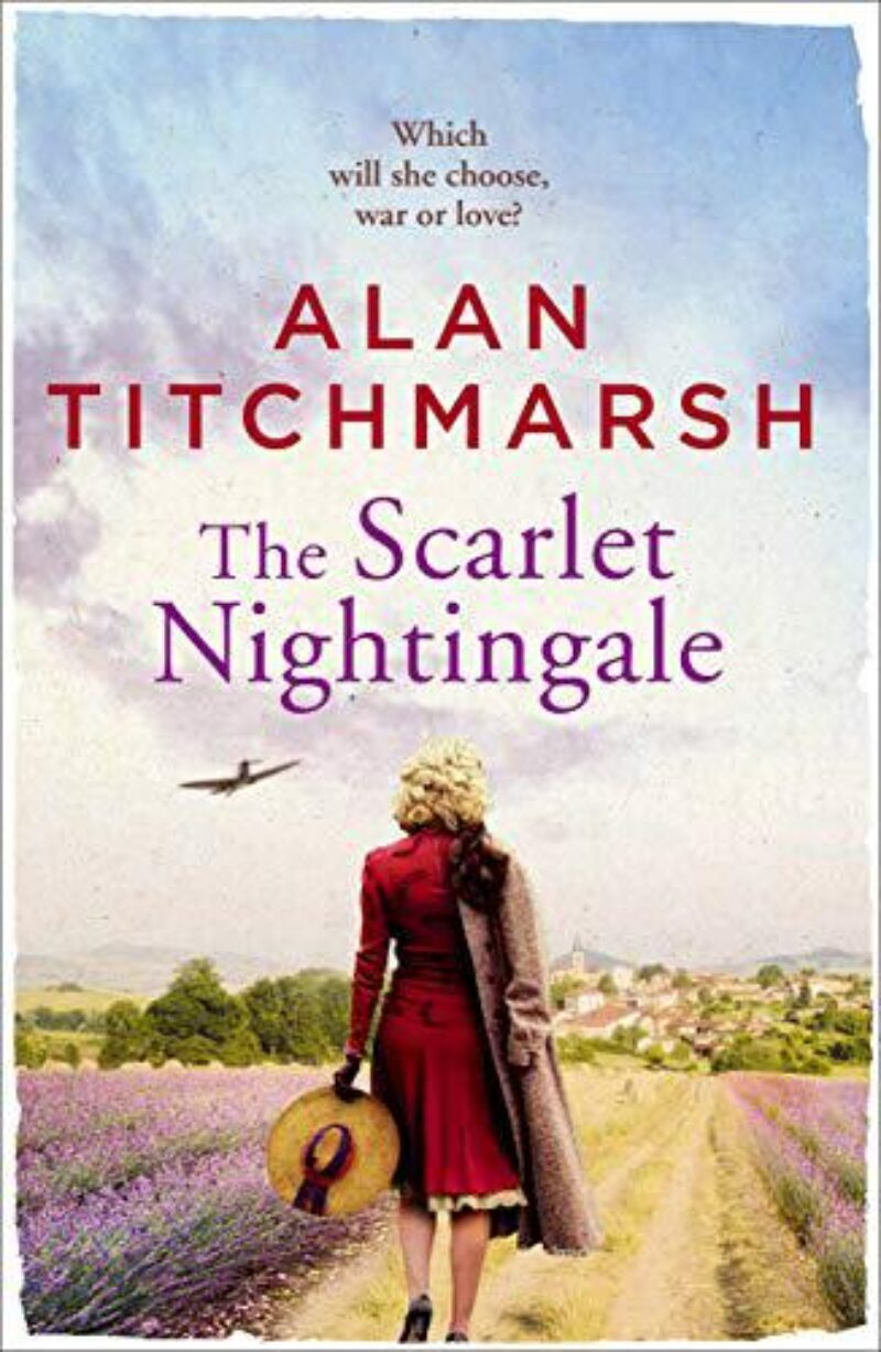Book cover for 'The Scarlet Nightingale'