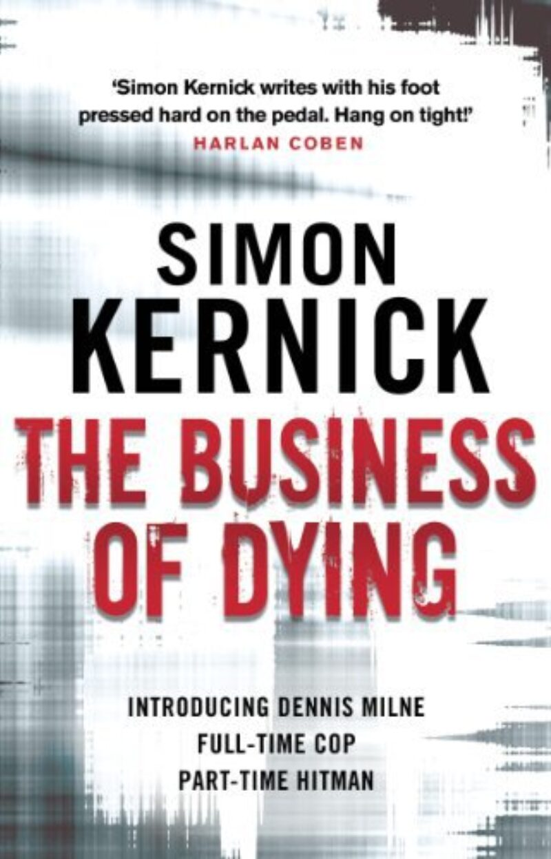 Book cover for 'The Business of Dying'