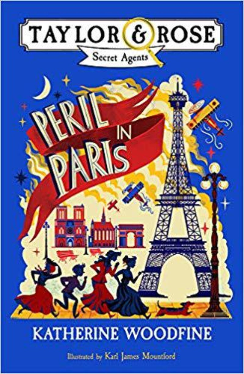 Book cover for 'Peril In Paris'