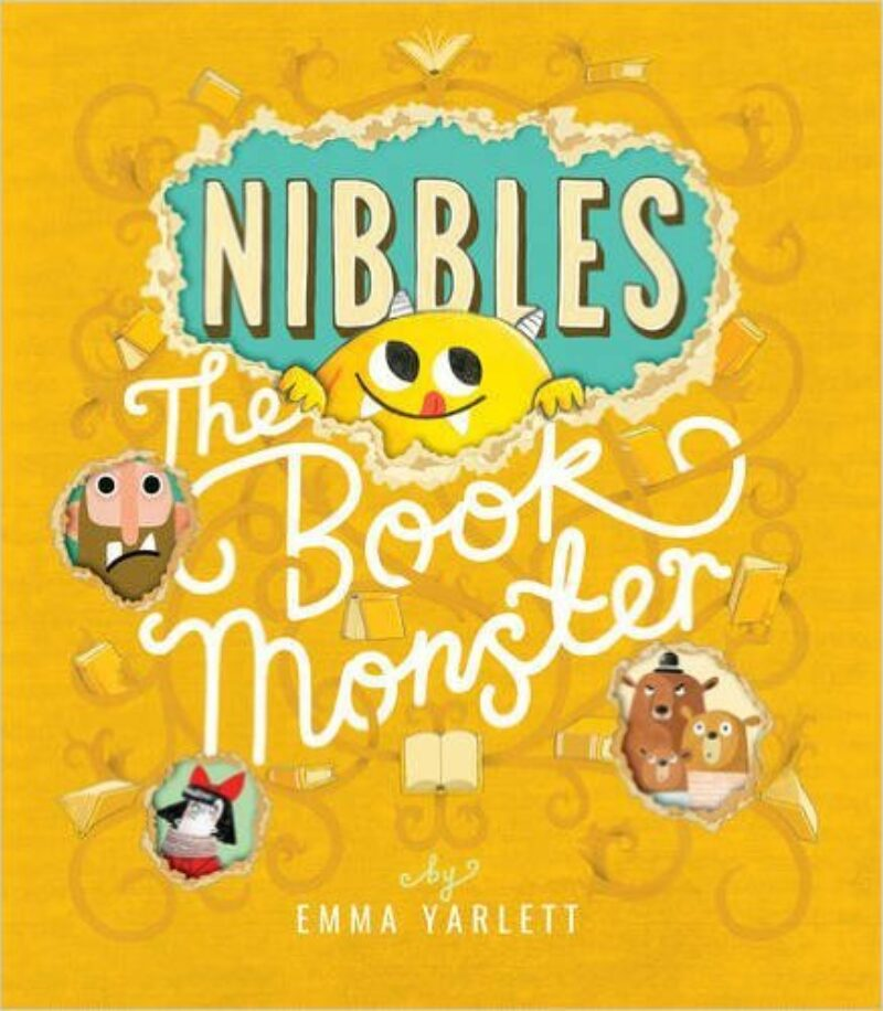 Book cover for 'Nibbles: The Book Monster'