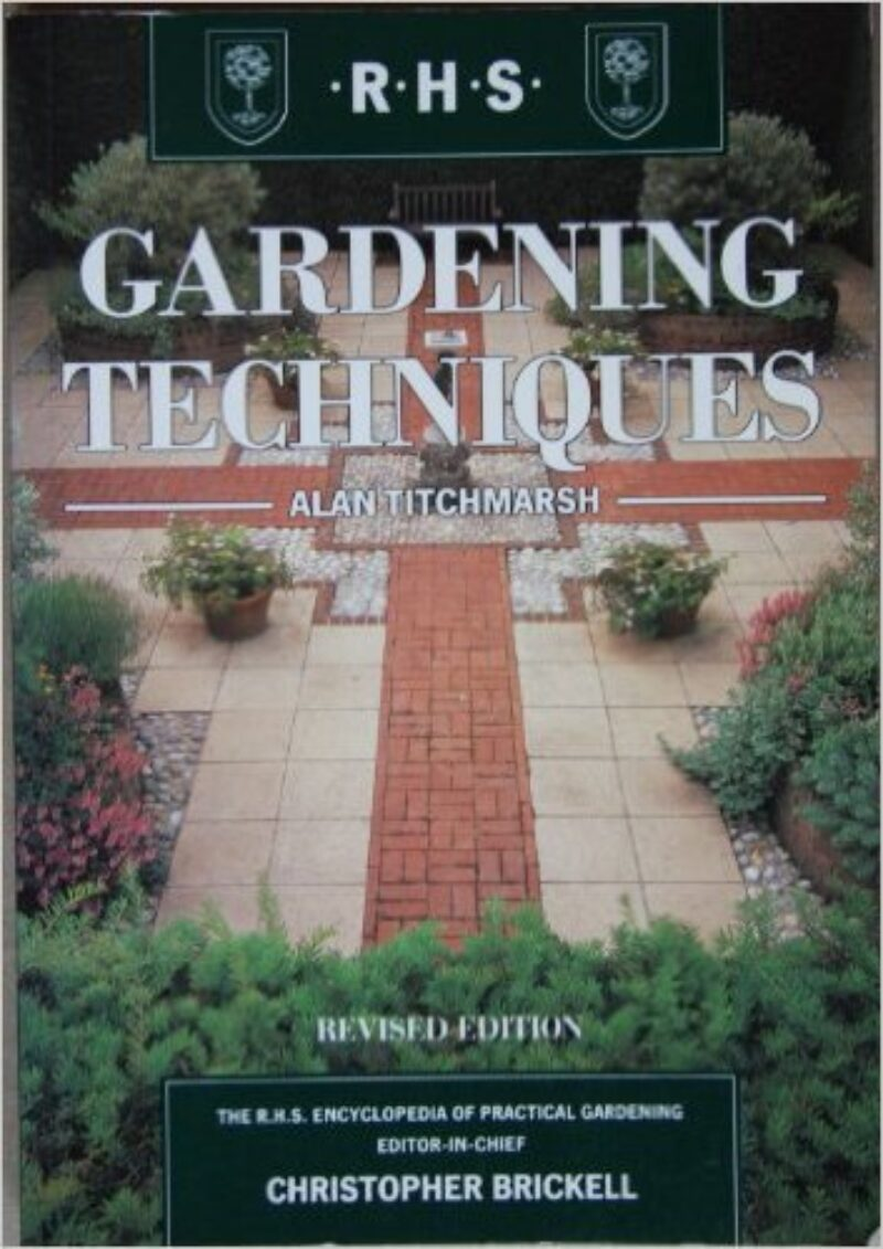 Book cover for 'Gardening Techniques'
