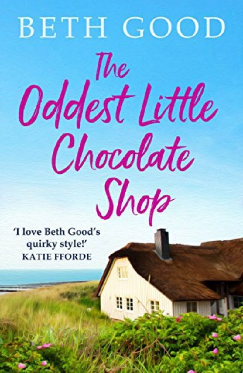 Book cover for 'The Oddest Little Chocolate Shop'
