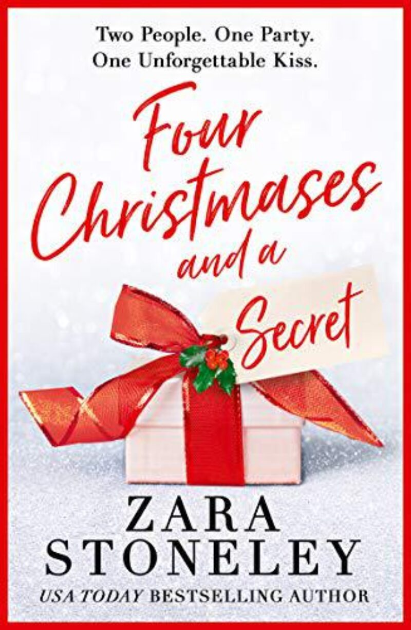 Book cover for 'Four Christmases and a Secret'