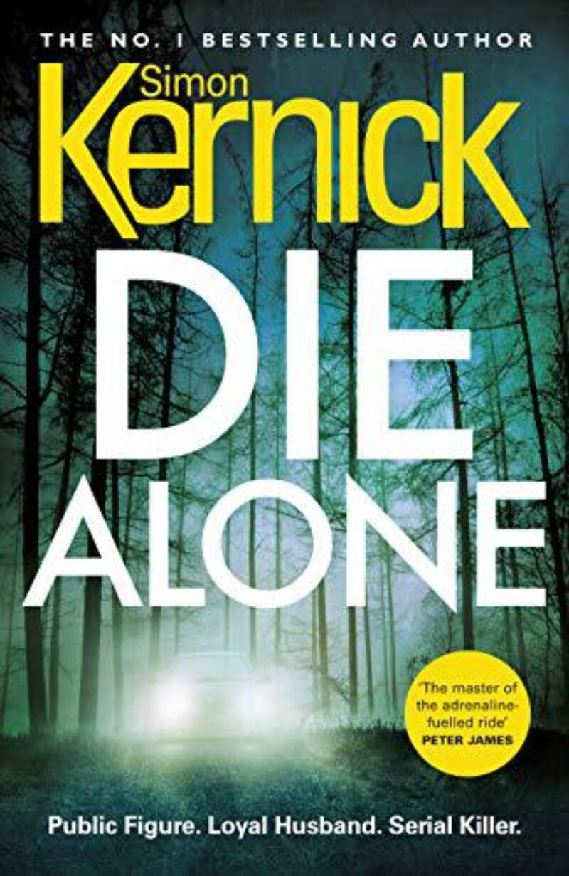 Book cover for 'Die Alone'