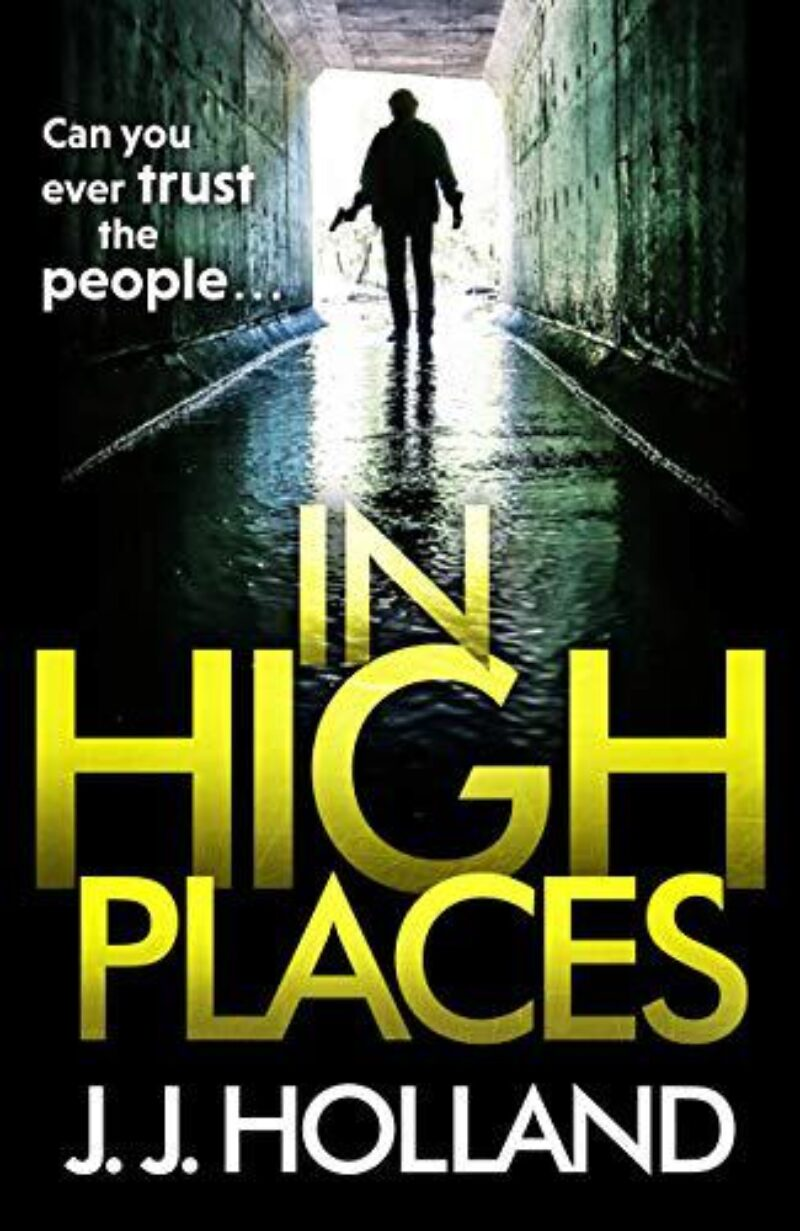 Book cover for 'In High Places'