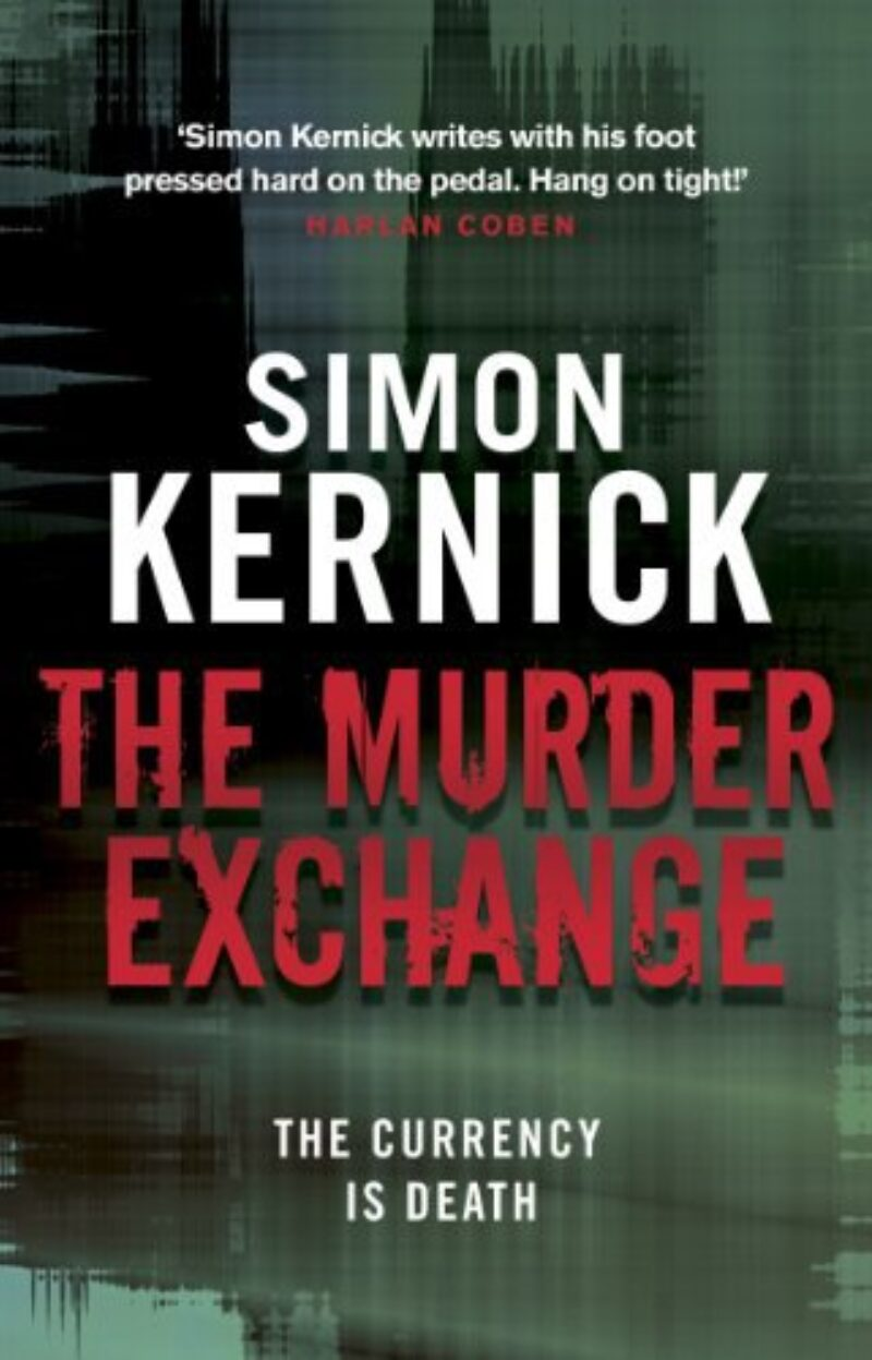 Book cover for 'The Murder Exchange'