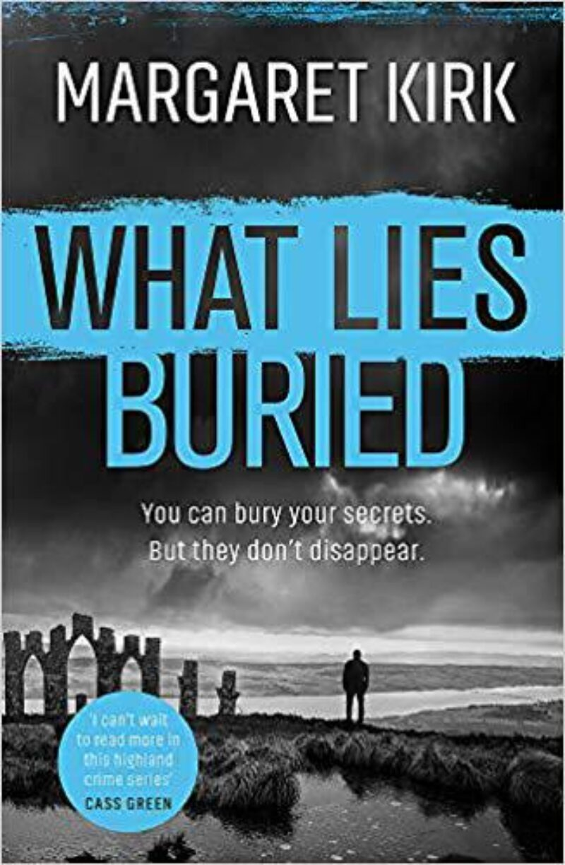 Book cover for 'What Lies Buried'