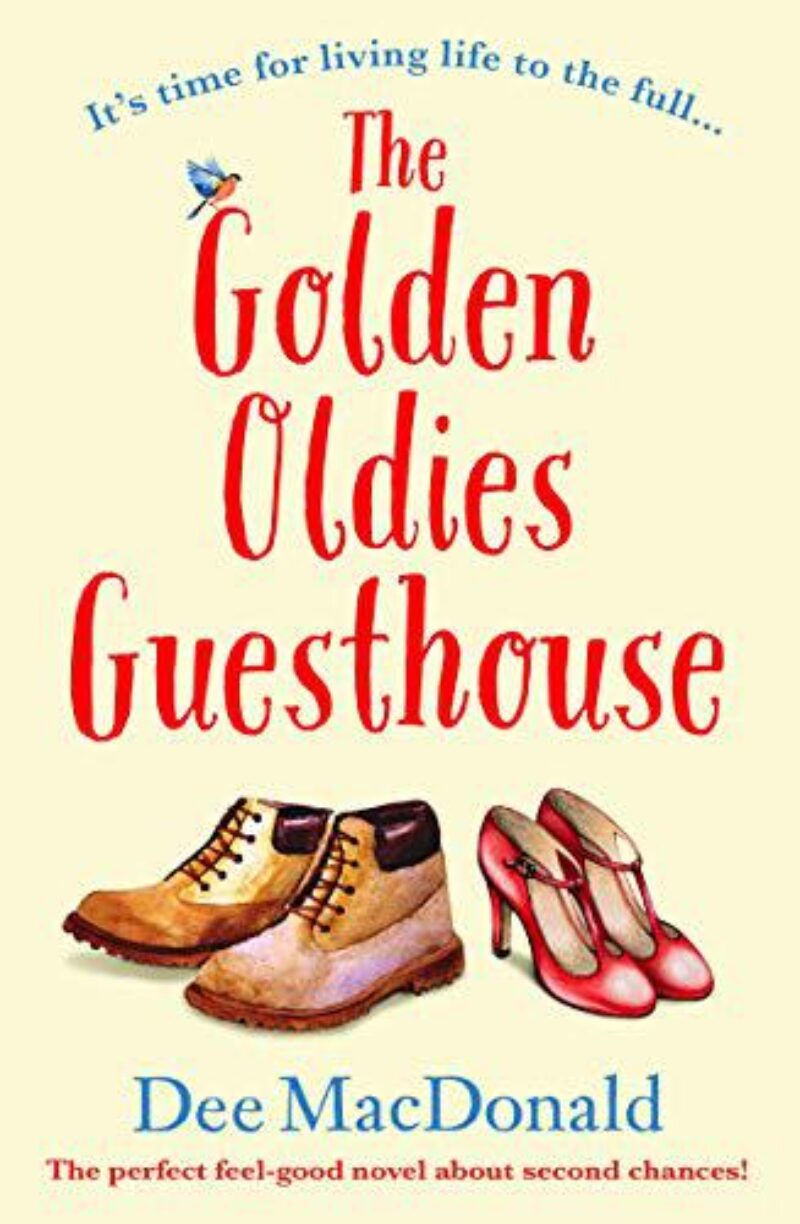 Book cover for 'The Golden Oldies Guesthouse'