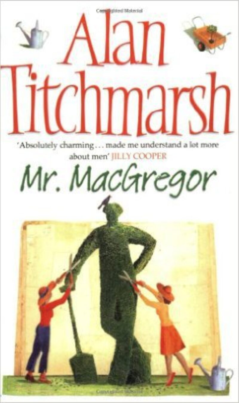Book cover for 'Mr MacGregor'