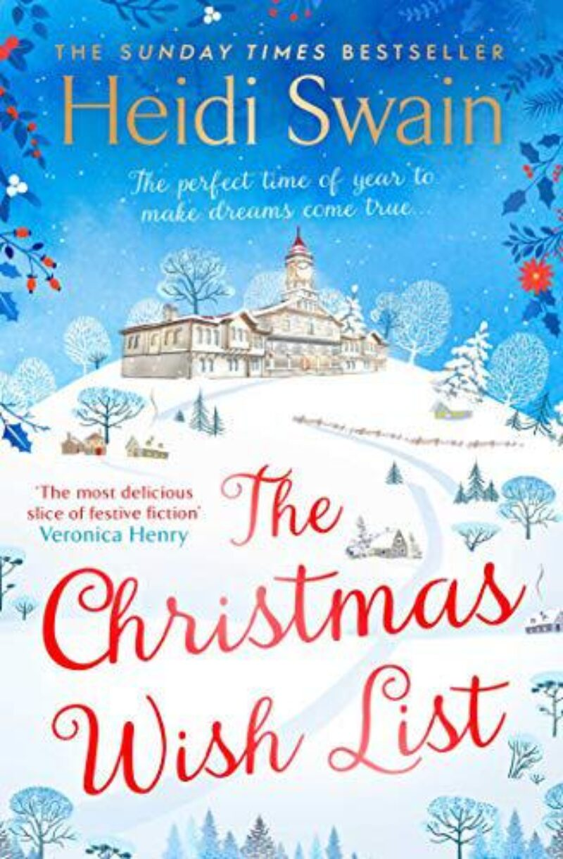 Book cover for 'The Christmas Wish List'
