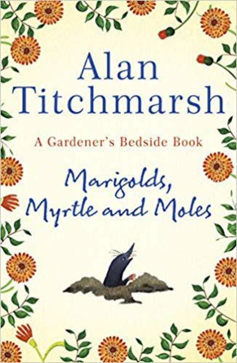 Book cover for 'Marigolds, Myrtle and Moles'