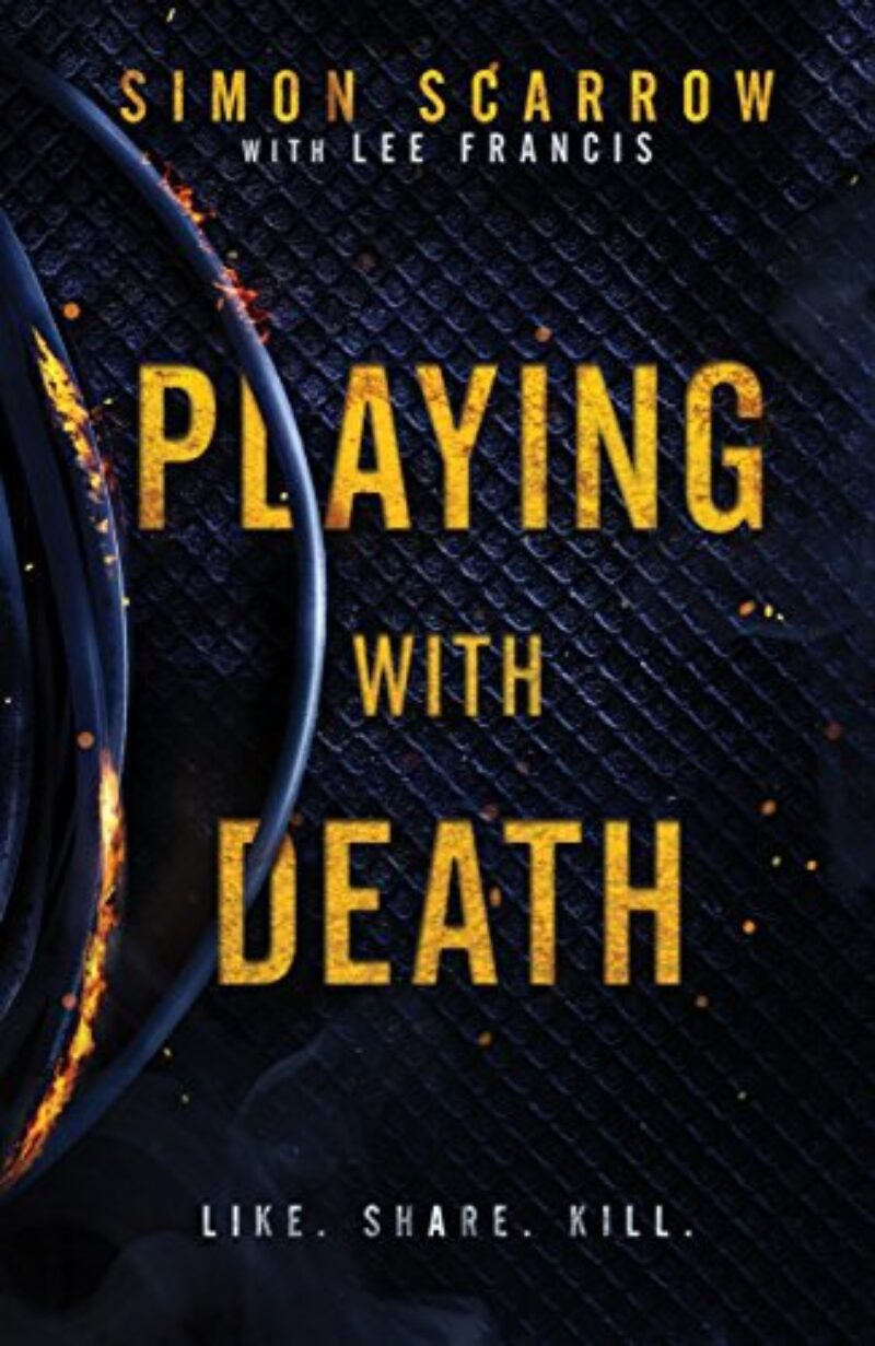 Book cover for 'Playing with Death'