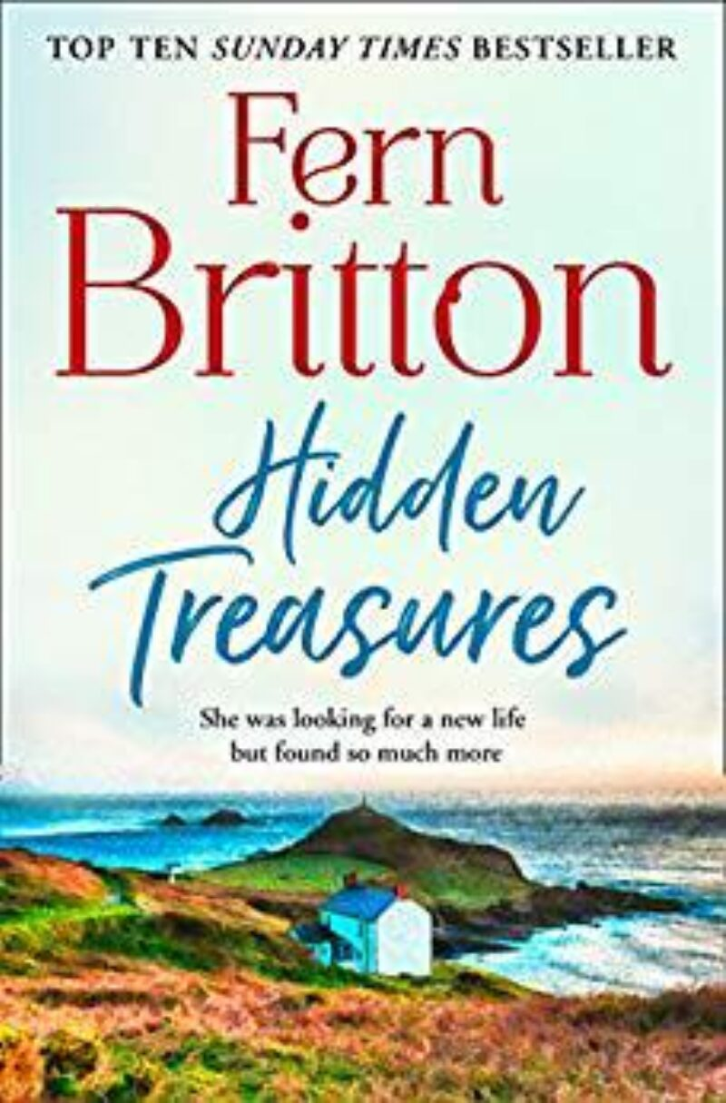 Book cover for 'Hidden Treasures'