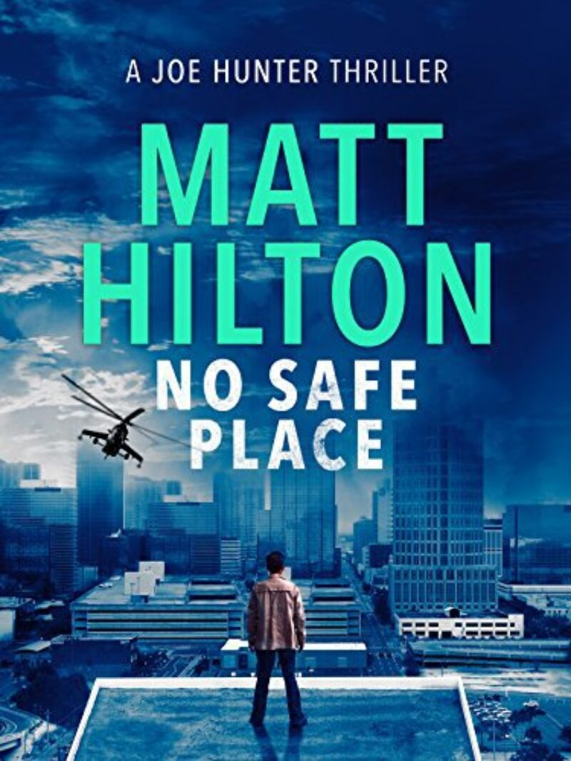 Book cover for 'No Safe Place'