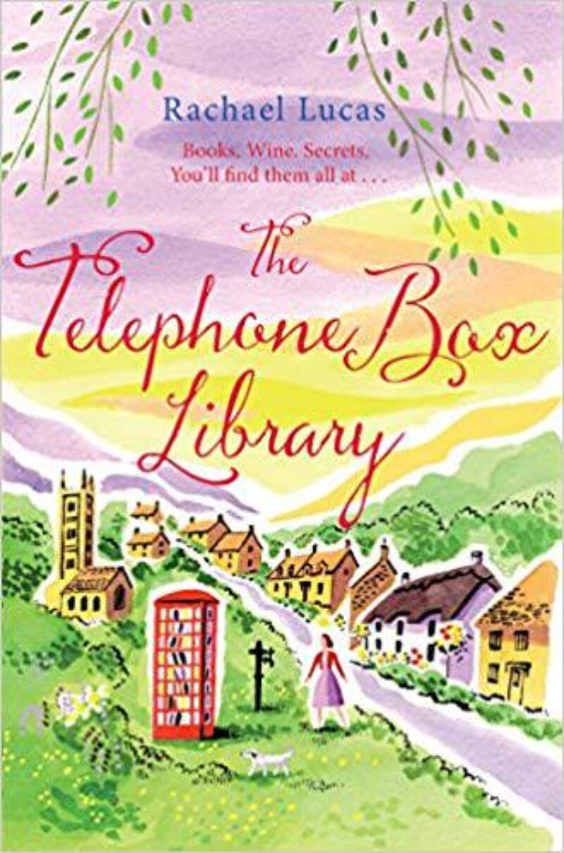 Book cover for 'The Telephone Box Library'