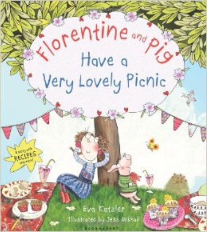 Book cover for 'Florentine and Pig Have A Very Lovely Picnic'