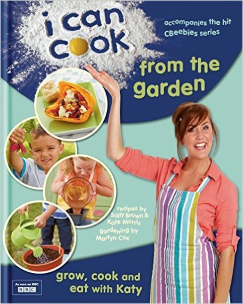 Book cover for 'I Can Cook from the Garden'