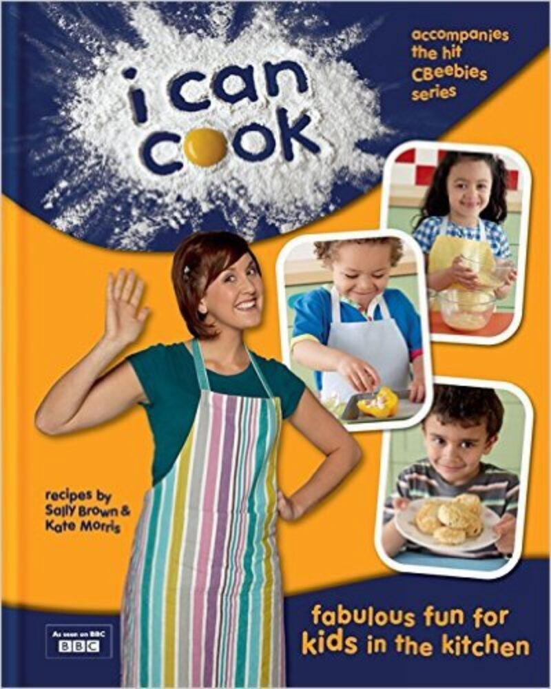Book cover for 'I Can Cook!'