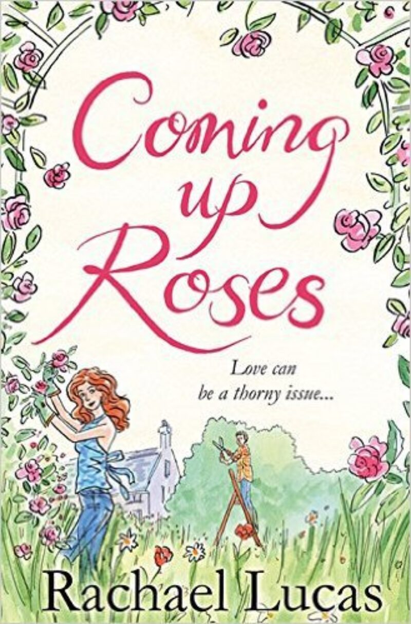 Book cover for 'Coming Up Roses'