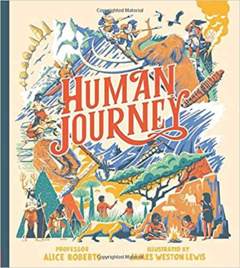 Book cover for 'Human Journey'