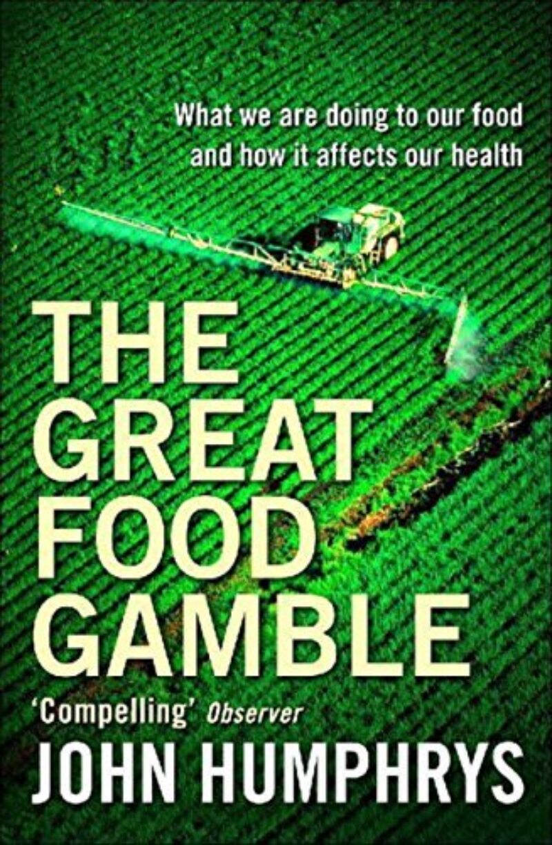 Book cover for 'The Great Food Gamble'