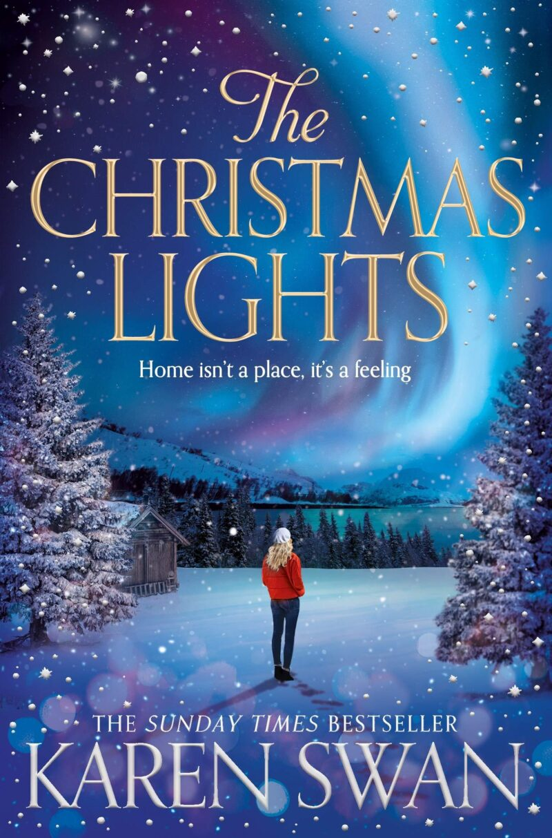 Book cover for 'The Christmas Lights'