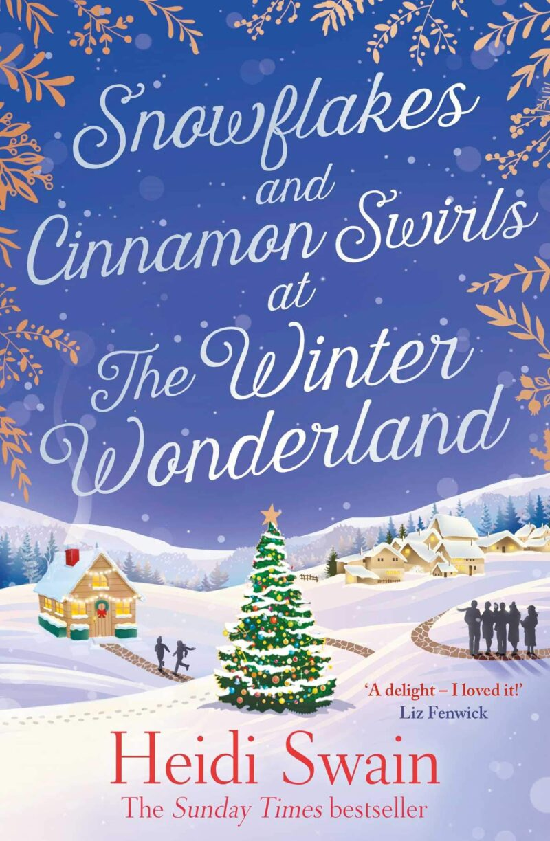 Book cover for 'Snowflakes and Cinnamon Swirls at the Winter Wonderland'