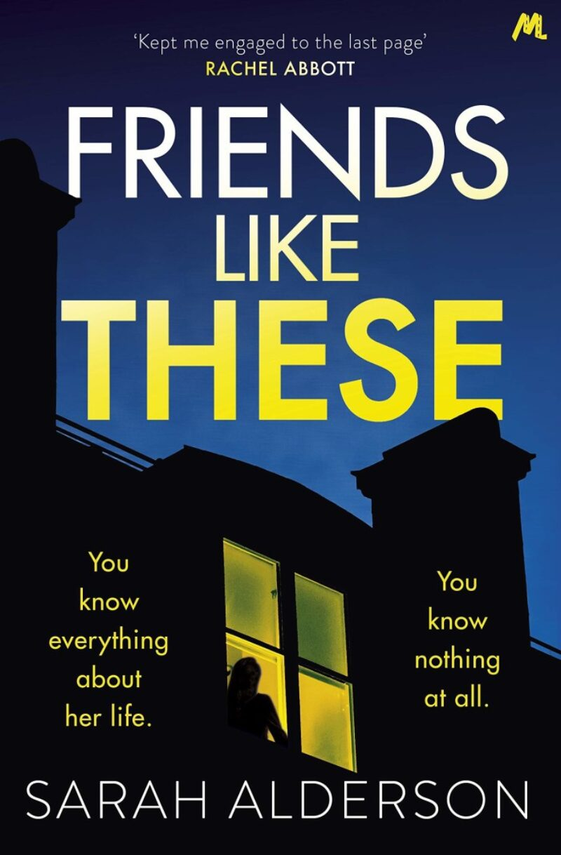 Book cover for 'Friends Like These'