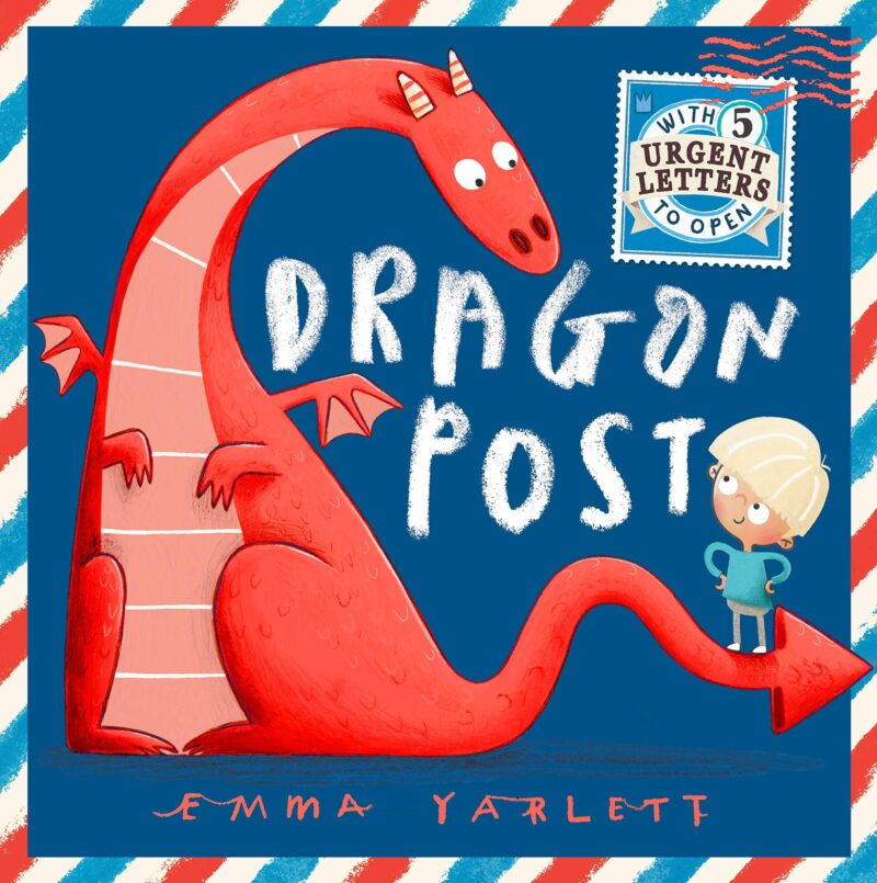 Book cover for 'Dragon Post'