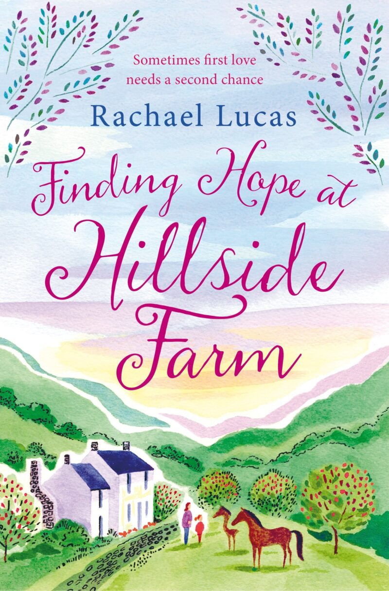 Book cover for 'Finding Hope at Hillside Farm'