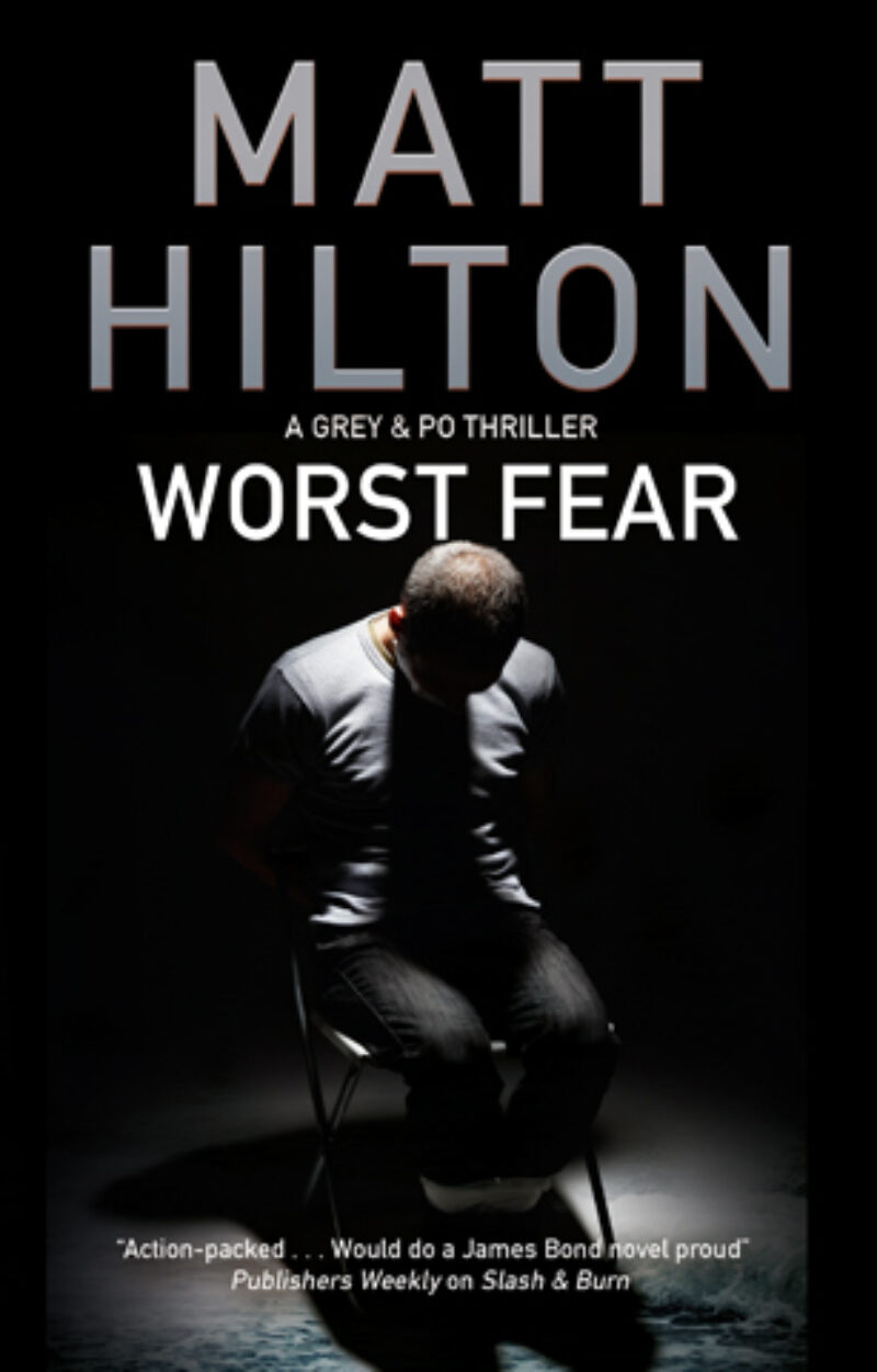 Book cover for 'Worst Fear'