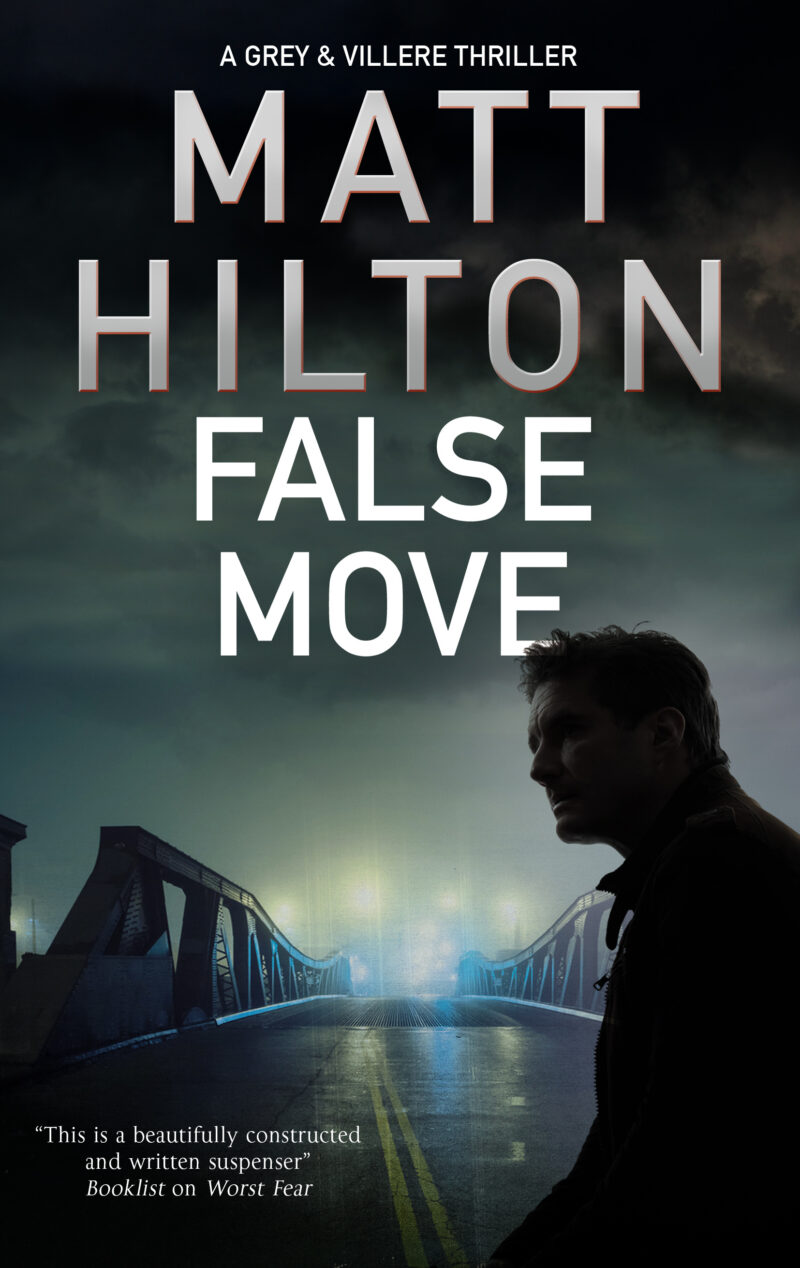 Book cover for 'False Move'