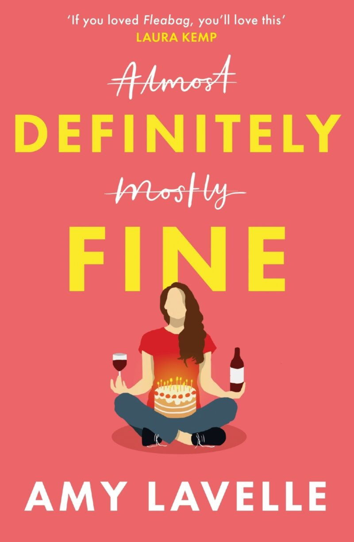 Book cover for 'Definitely Fine'