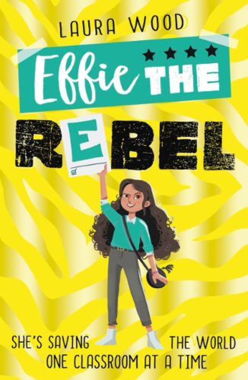 Book cover for 'Effie the Rebel'