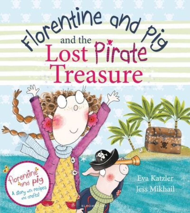 Book cover for 'Florentine and Pig and the Lost Pirate Treasure'