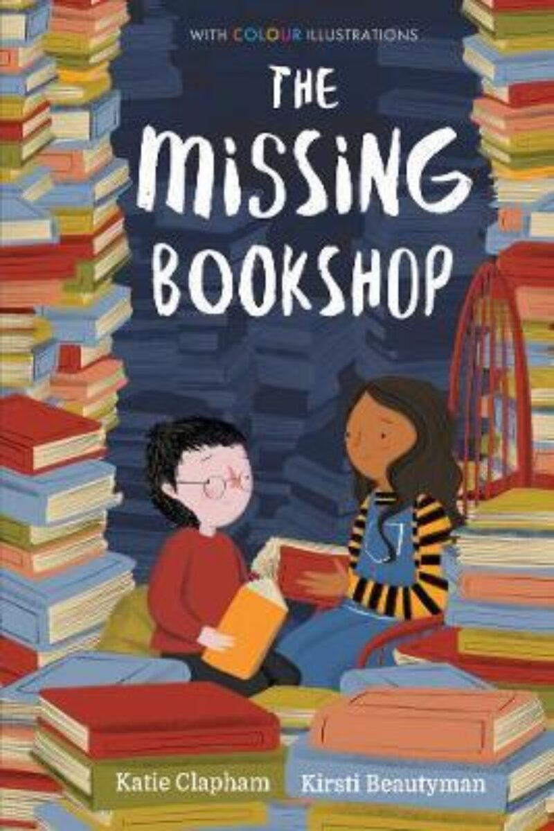 Book cover for 'The Missing Bookshop'