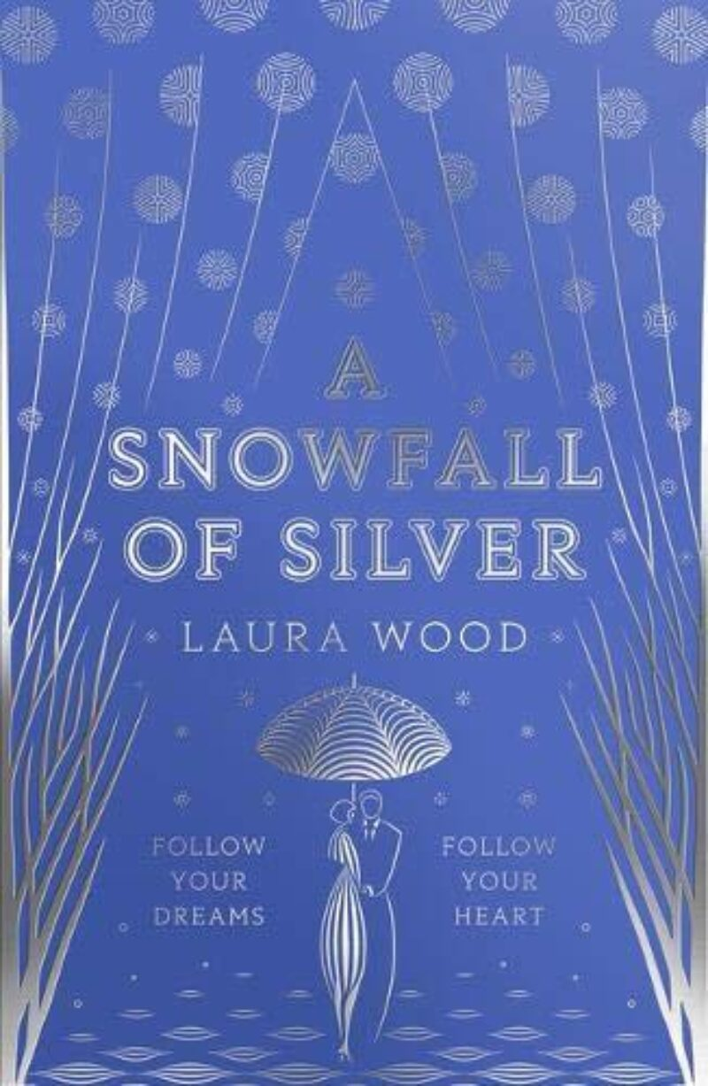 Book cover for 'A Snowfall of Silver'