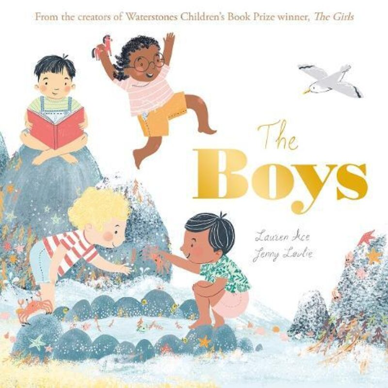 Book cover for 'The Boys'