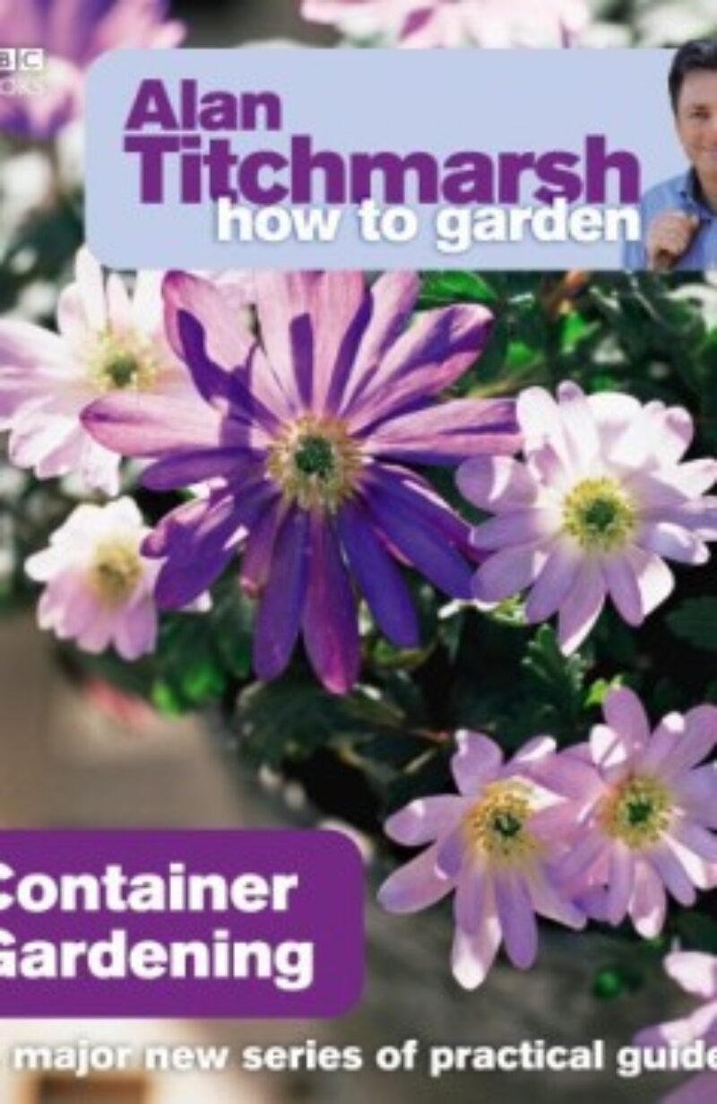 Book cover for 'How To Garden Container Gardening'