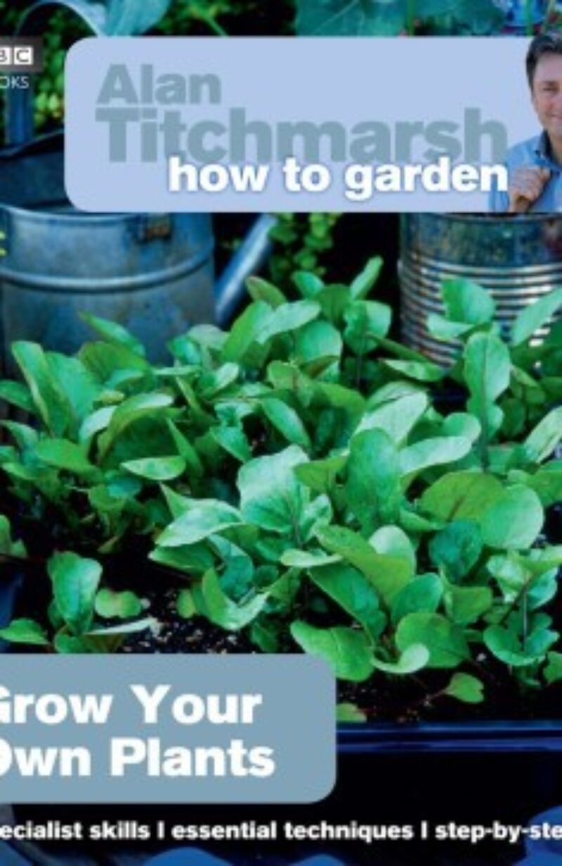 Book cover for 'How To Garden Grow Your Own Plants'