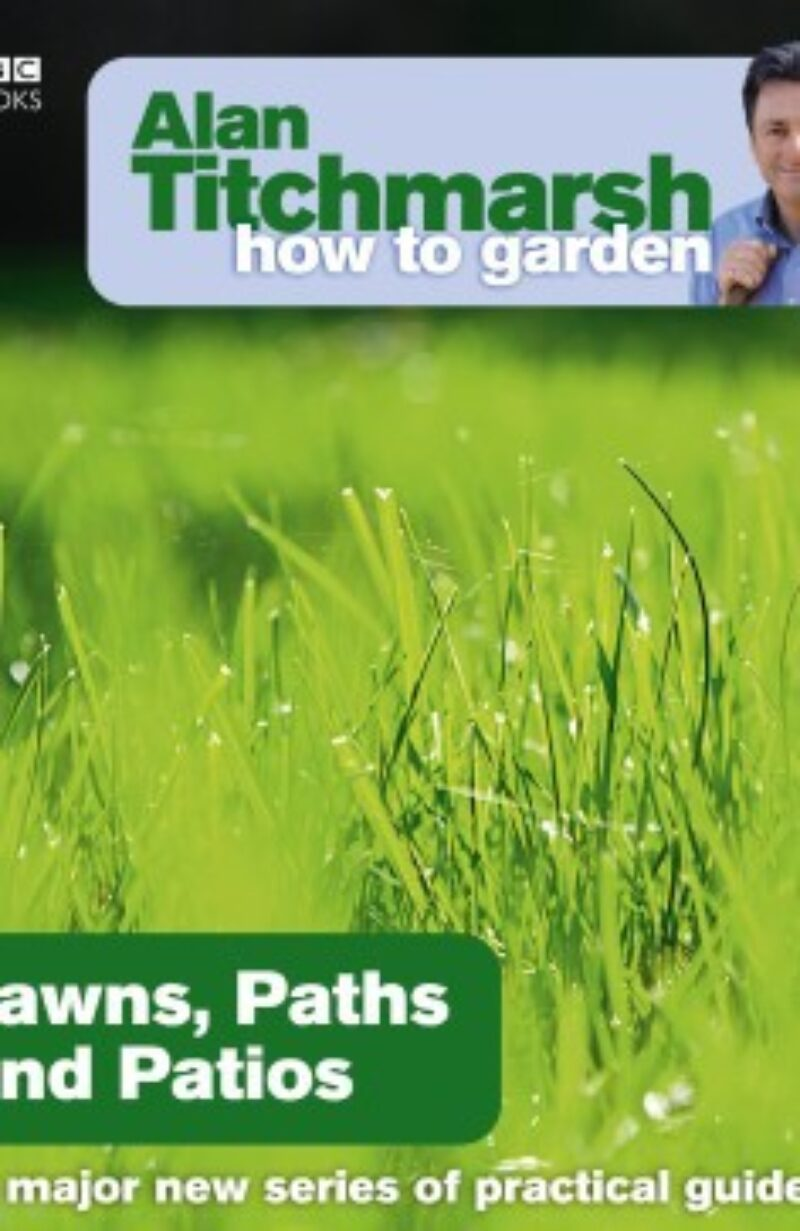 Book cover for 'How To Garden Lawns, Paths and Patios'