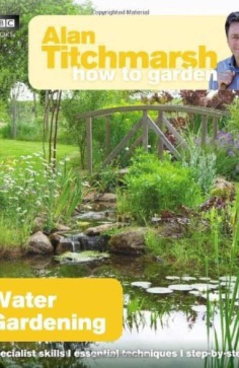 Book cover for 'How To Garden Water Gardening'