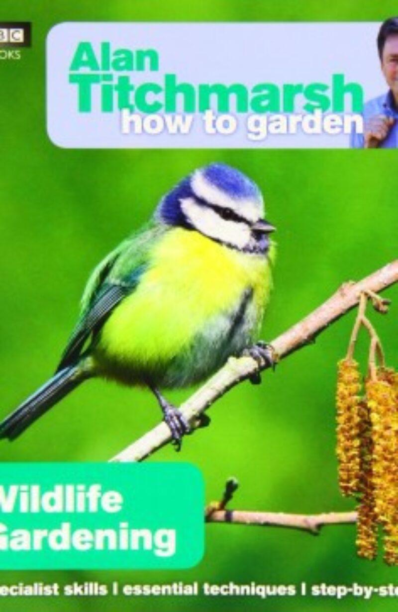 Book cover for 'How To Garden Wildlife Gardening'