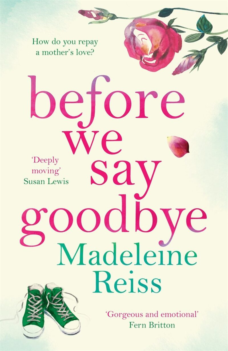 Book cover for 'Before We Say Goodbye'