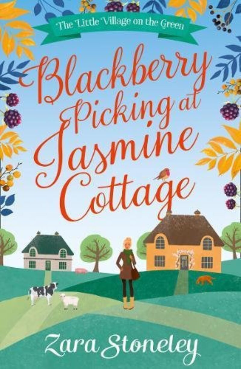 Book cover for 'Blackberry Picking at Jasmine Cottage'