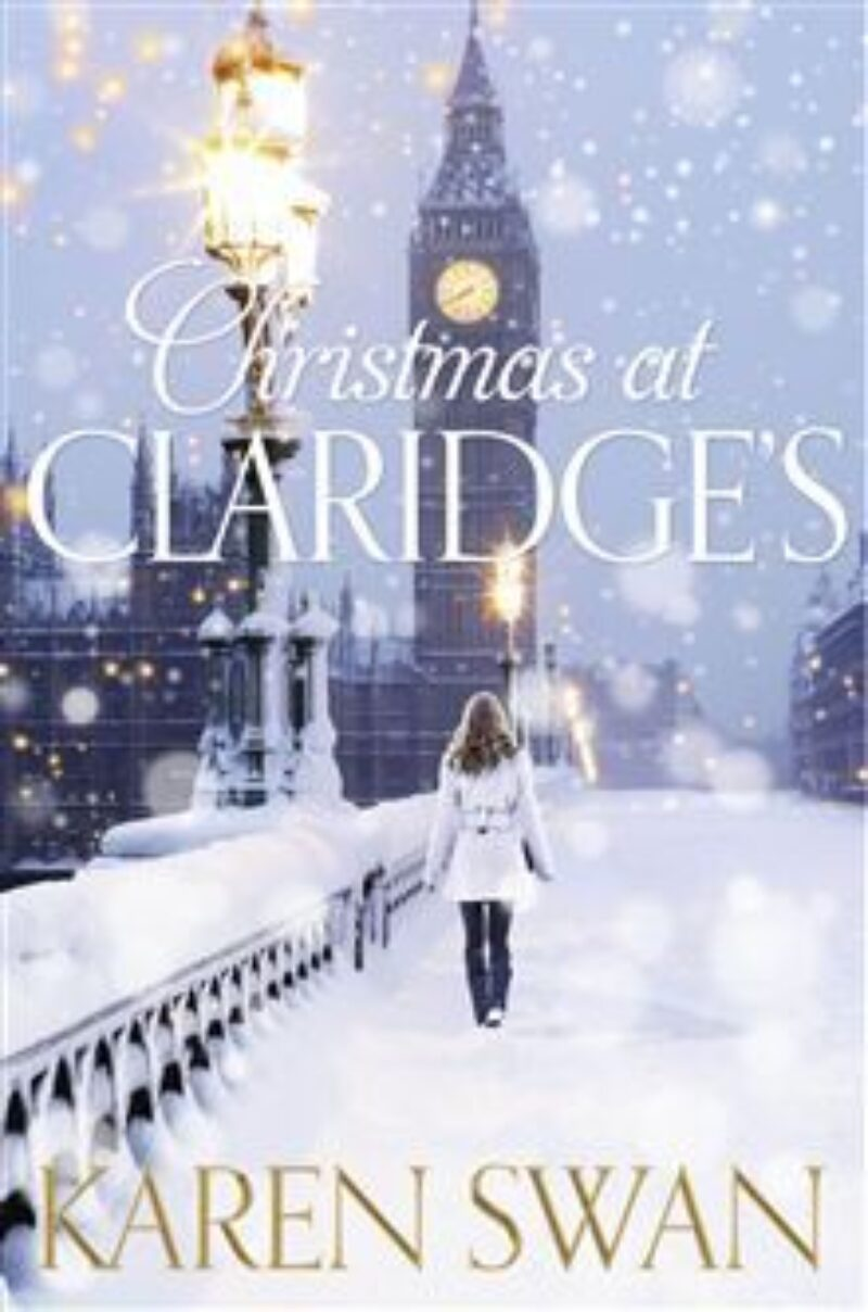 Book cover for 'Christmas At Claridge's'