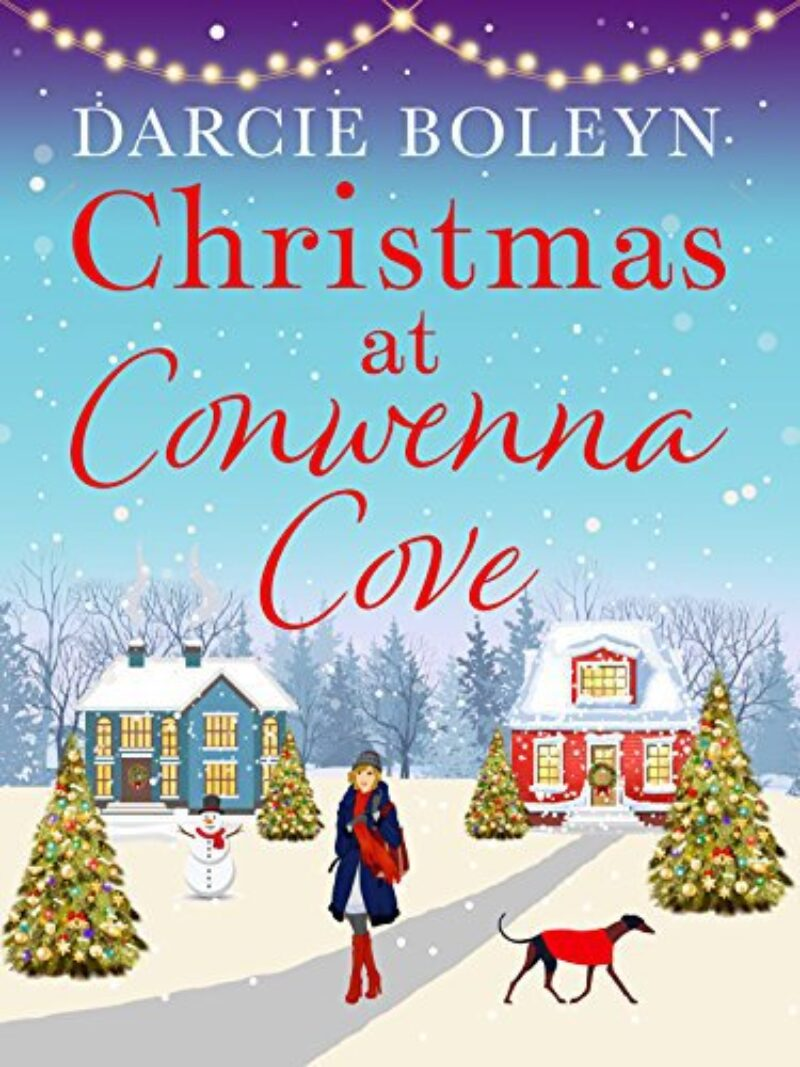 Book cover for 'Christmas at Conwenna Cove'